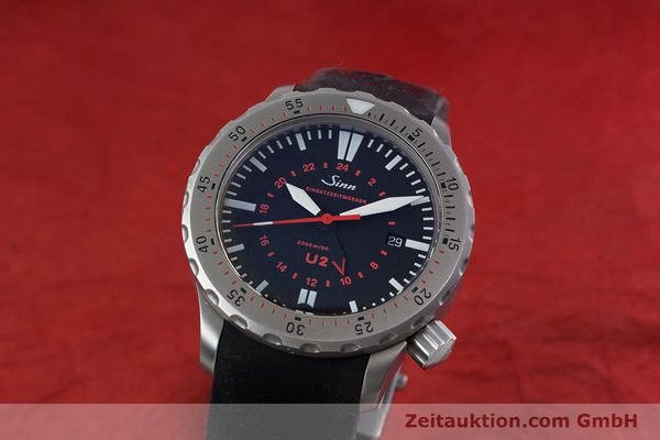 Used luxury watch Sinn U2 steel automatic Kal. ETA 2893-2 Ref. 10202348  | 152864 04