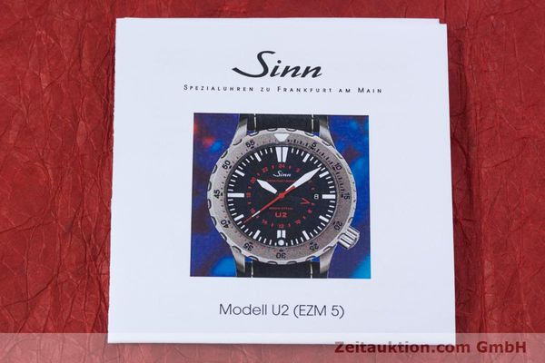 Used luxury watch Sinn U2 steel automatic Kal. ETA 2893-2 Ref. 10202348  | 152864 13