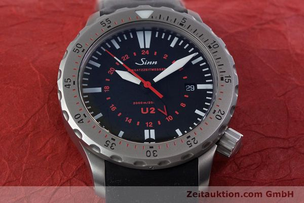 Used luxury watch Sinn U2 steel automatic Kal. ETA 2893-2 Ref. 10202348  | 152864 16
