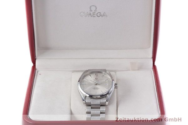 Used luxury watch Omega Seamaster steel automatic Kal. 2500 C Ref. 25033000  | 152865 07
