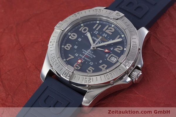Used luxury watch Breitling Colt GMT steel automatic Kal. B32 ETA 2893-2 Ref. A32350  | 152875 01