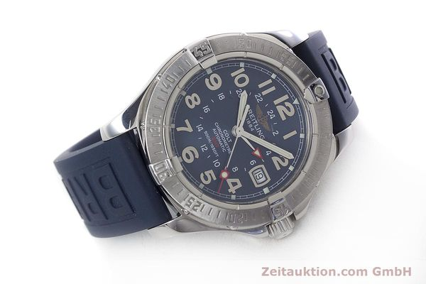 Used luxury watch Breitling Colt GMT steel automatic Kal. B32 ETA 2893-2 Ref. A32350  | 152875 03