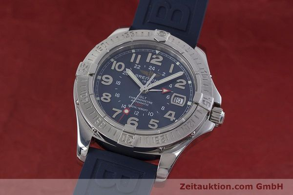 Used luxury watch Breitling Colt GMT steel automatic Kal. B32 ETA 2893-2 Ref. A32350  | 152875 04