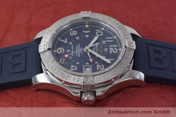 Used luxury watch Breitling Colt GMT steel automatic Kal. B32 ETA 2893-2 Ref. A32350  | 152875 05