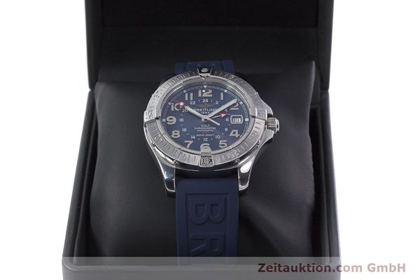 Used luxury watch Breitling Colt GMT steel automatic Kal. B32 ETA 2893-2 Ref. A32350  | 152875 07