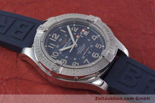 Used luxury watch Breitling Colt GMT steel automatic Kal. B32 ETA 2893-2 Ref. A32350  | 152875 15