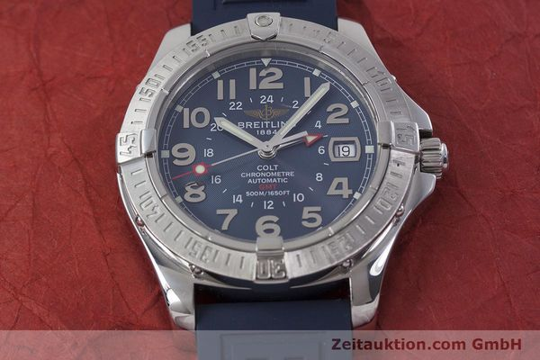 Used luxury watch Breitling Colt GMT steel automatic Kal. B32 ETA 2893-2 Ref. A32350  | 152875 16