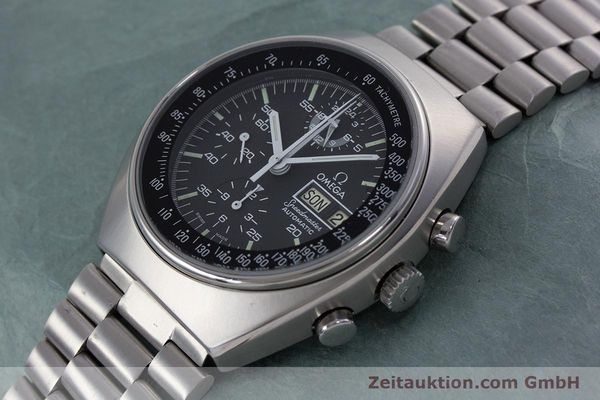 Used luxury watch Omega Speedmaster chronograph steel automatic Kal. 1045 VINTAGE  | 152877 01