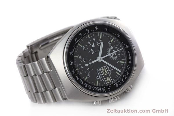 Used luxury watch Omega Speedmaster chronograph steel automatic Kal. 1045 VINTAGE  | 152877 03