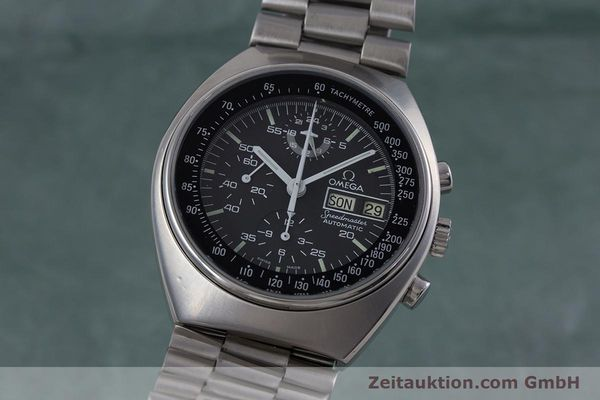 Used luxury watch Omega Speedmaster chronograph steel automatic Kal. 1045 VINTAGE  | 152877 04