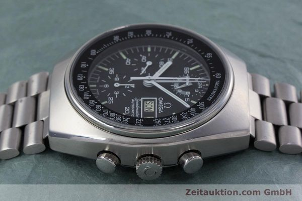 Used luxury watch Omega Speedmaster chronograph steel automatic Kal. 1045 VINTAGE  | 152877 05