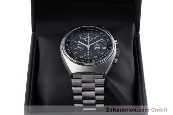 Used luxury watch Omega Speedmaster chronograph steel automatic Kal. 1045 VINTAGE  | 152877 07