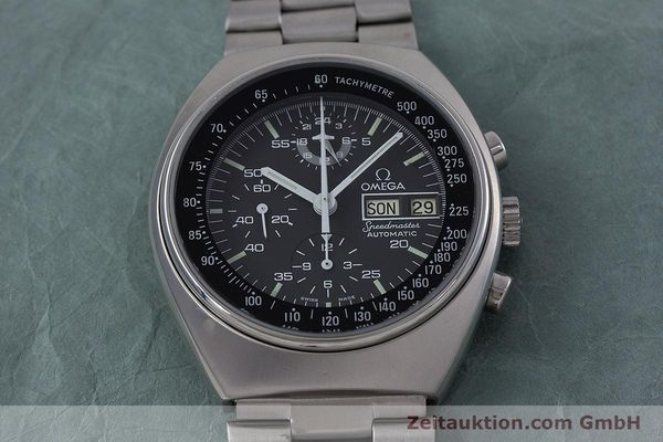 Used luxury watch Omega Speedmaster chronograph steel automatic Kal. 1045 VINTAGE  | 152877 16