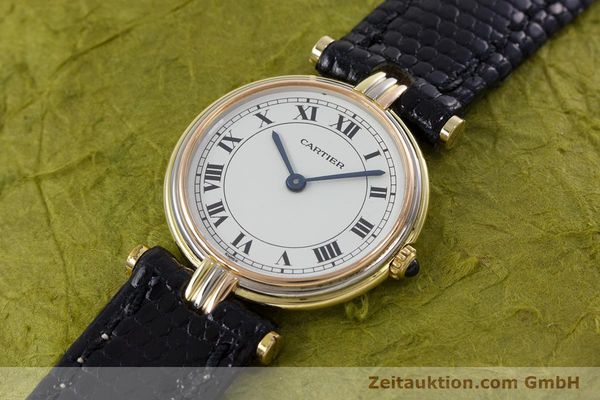 Used luxury watch Cartier * 18 ct gold quartz Kal. 81  | 152879 01