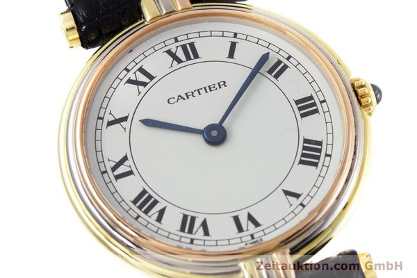 Used luxury watch Cartier * 18 ct gold quartz Kal. 81  | 152879 02