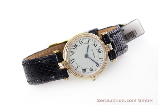 Used luxury watch Cartier * 18 ct gold quartz Kal. 81  | 152879 03
