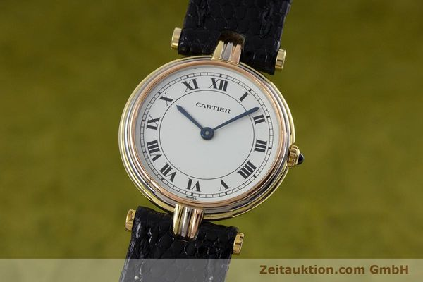 Used luxury watch Cartier * 18 ct gold quartz Kal. 81  | 152879 04