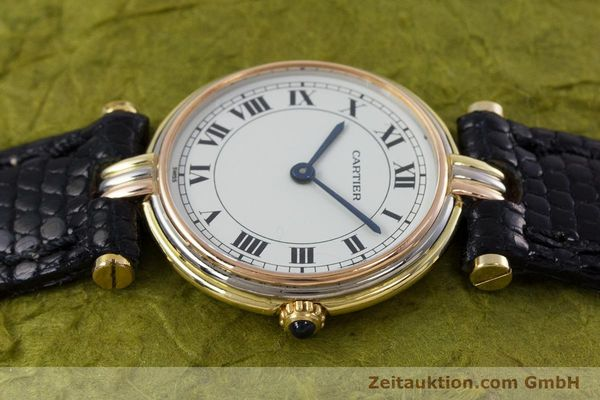 Used luxury watch Cartier * 18 ct gold quartz Kal. 81  | 152879 05