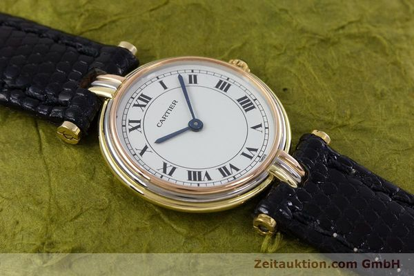 Used luxury watch Cartier * 18 ct gold quartz Kal. 81  | 152879 11