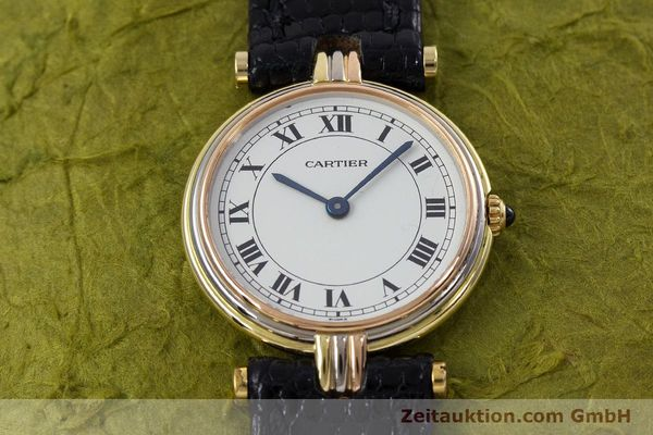 Used luxury watch Cartier * 18 ct gold quartz Kal. 81  | 152879 12