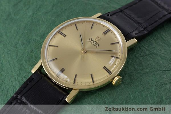 Used luxury watch Omega * 18 ct gold automatic Kal. 552 VINTAGE  | 152880 01