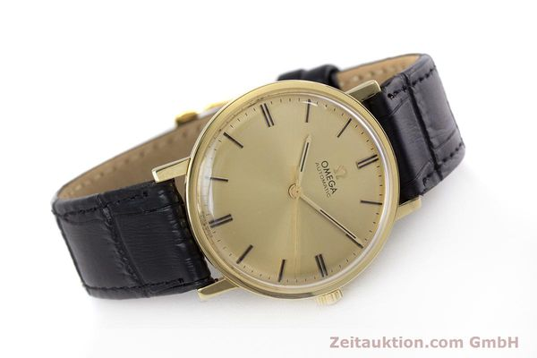 Used luxury watch Omega * 18 ct gold automatic Kal. 552 VINTAGE  | 152880 03