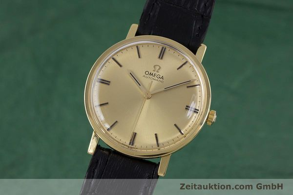 Used luxury watch Omega * 18 ct gold automatic Kal. 552 VINTAGE  | 152880 04