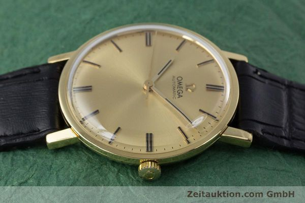 Used luxury watch Omega * 18 ct gold automatic Kal. 552 VINTAGE  | 152880 05