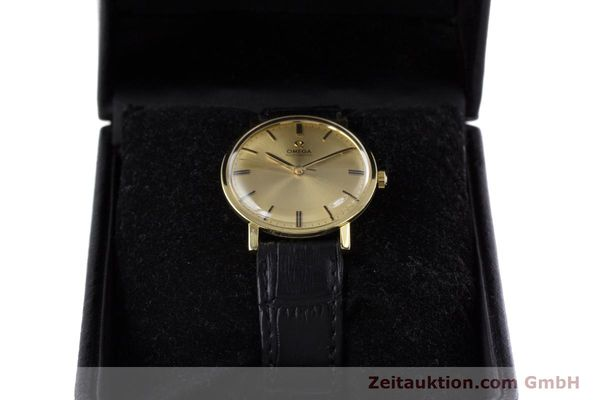 Used luxury watch Omega * 18 ct gold automatic Kal. 552 VINTAGE  | 152880 07