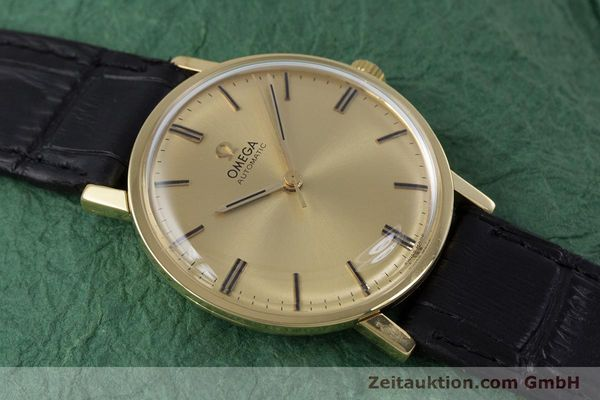 Used luxury watch Omega * 18 ct gold automatic Kal. 552 VINTAGE  | 152880 13