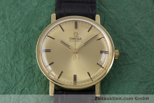 Used luxury watch Omega * 18 ct gold automatic Kal. 552 VINTAGE  | 152880 14