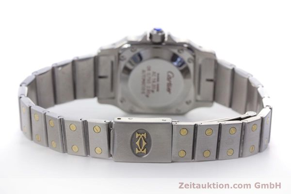 Used luxury watch Cartier Santos steel / gold automatic Kal. ETA 2670  | 152882 10