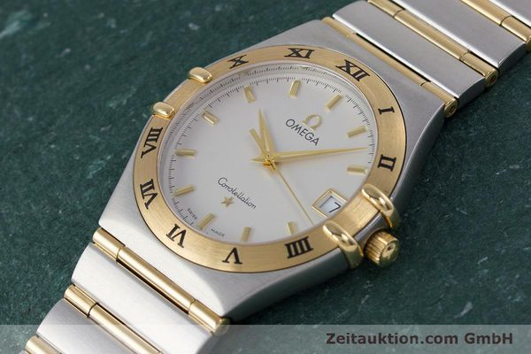 Used luxury watch Omega Constellation steel / gold quartz Kal. 1532  | 152888 01