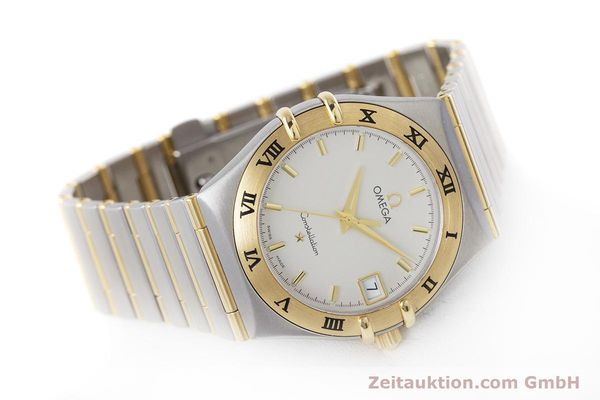 Used luxury watch Omega Constellation steel / gold quartz Kal. 1532  | 152888 03