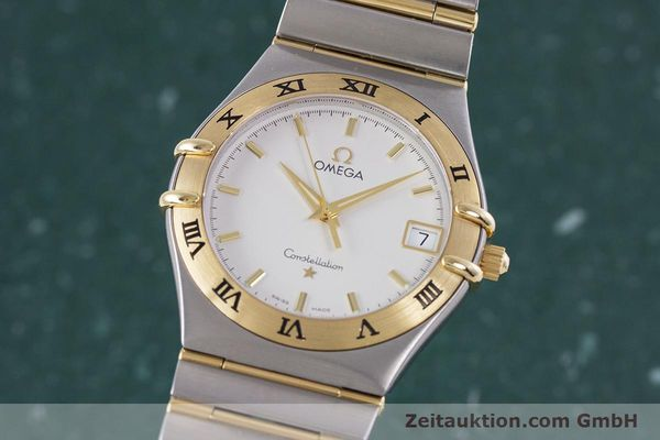 Used luxury watch Omega Constellation steel / gold quartz Kal. 1532  | 152888 04