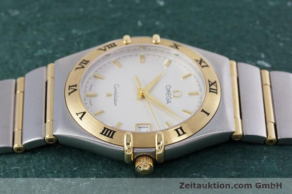 Used luxury watch Omega Constellation steel / gold quartz Kal. 1532  | 152888 05