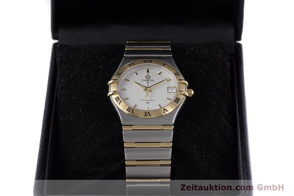 Used luxury watch Omega Constellation steel / gold quartz Kal. 1532  | 152888 07