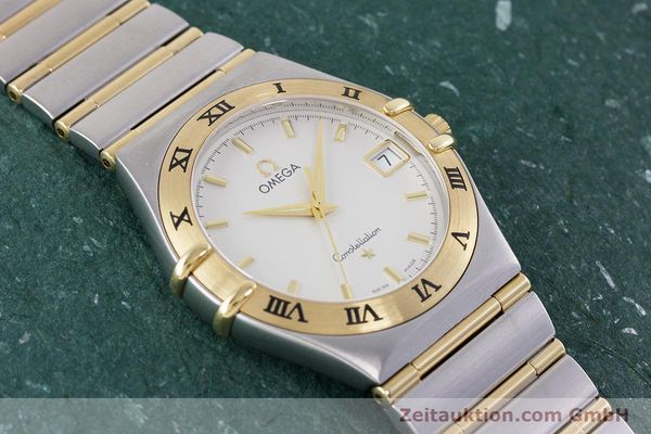 Used luxury watch Omega Constellation steel / gold quartz Kal. 1532  | 152888 13