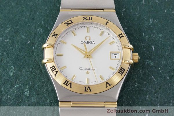 Used luxury watch Omega Constellation steel / gold quartz Kal. 1532  | 152888 14
