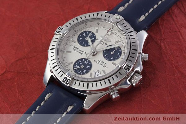 Used luxury watch Breitling Colt chronograph steel quartz Kal. B73 ETA 251232 Ref. A73350  | 152901 01