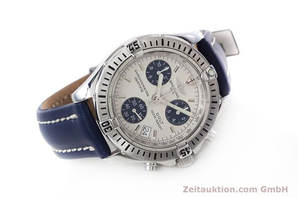 Used luxury watch Breitling Colt chronograph steel quartz Kal. B73 ETA 251232 Ref. A73350  | 152901 03