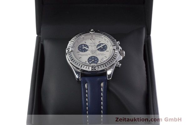 Used luxury watch Breitling Colt chronograph steel quartz Kal. B73 ETA 251232 Ref. A73350  | 152901 07