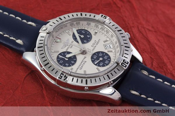 Used luxury watch Breitling Colt chronograph steel quartz Kal. B73 ETA 251232 Ref. A73350  | 152901 12