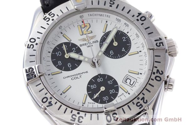 Used luxury watch Breitling Colt chronograph steel quartz Kal. B53 ETA 251262 Ref. A53035  | 152902 02