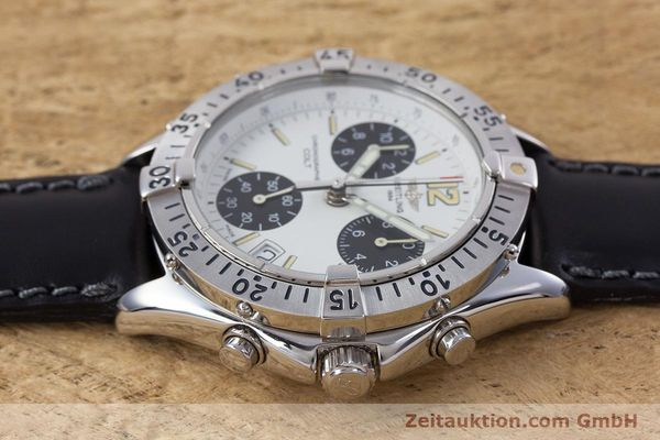 Used luxury watch Breitling Colt chronograph steel quartz Kal. B53 ETA 251262 Ref. A53035  | 152902 05