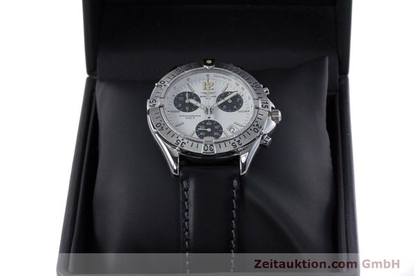 Used luxury watch Breitling Colt chronograph steel quartz Kal. B53 ETA 251262 Ref. A53035  | 152902 07