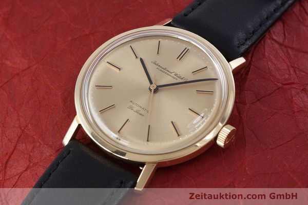 Used luxury watch IWC De Luxe 18 ct gold automatic Kal. 854 Ref. R808A VINTAGE  | 152905 01