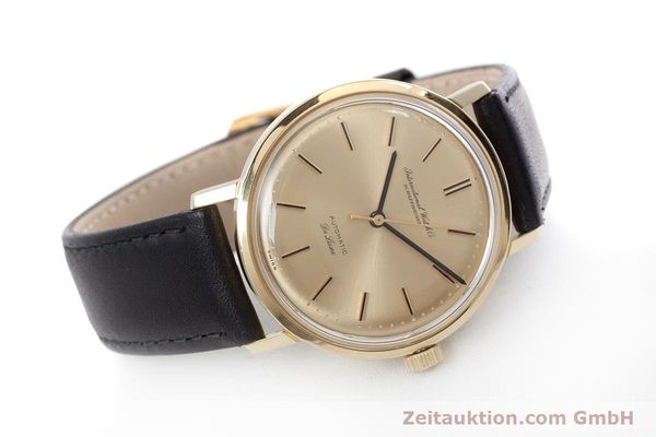 Used luxury watch IWC De Luxe 18 ct gold automatic Kal. 854 Ref. R808A VINTAGE  | 152905 03