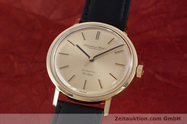 Used luxury watch IWC De Luxe 18 ct gold automatic Kal. 854 Ref. R808A VINTAGE  | 152905 04