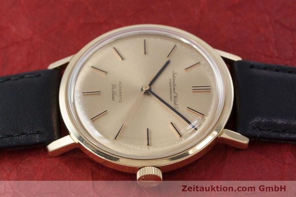 Used luxury watch IWC De Luxe 18 ct gold automatic Kal. 854 Ref. R808A VINTAGE  | 152905 05